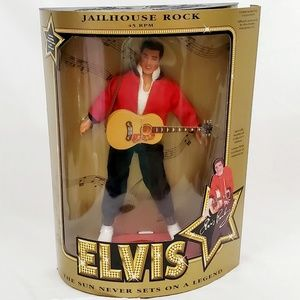 "Collectible Elvis ""Jailhouse Rock 45 RPM"" Hasbro"